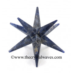 Sodalite 12 Point Merkaba Star