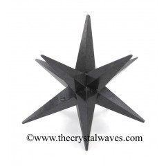 Black Tourmaline 12 Point Merkaba Star