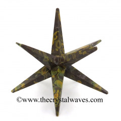 Ocular Jasper 12 Point Merkaba Star