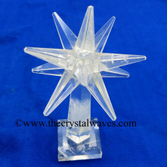 Crystal Quartz Merkaba Star Tower