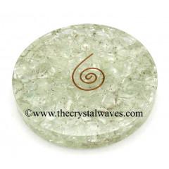 Crystal Quartz Chips Orgonite Coasters