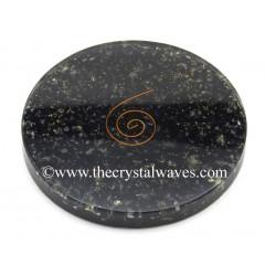 Black Tourmaline Chips Orgonite Coasters