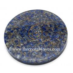 Lapis Lazuli Chips Orgonite Coasters