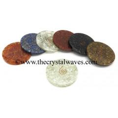 Mix Assorted Orgonite Coasters