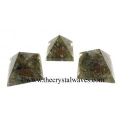 Labradorite Chips Orgone Small Baby Pyramids