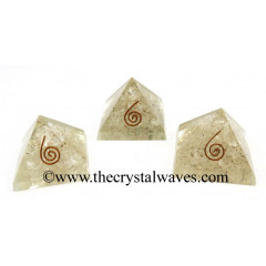 Crystal Quartz Chips Orgone Small Baby Pyramids