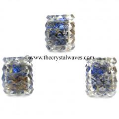Lapis Lazuli Chips Orgone Lemurian 54 Pyramid Cube