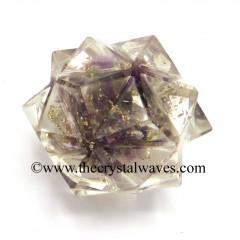 Amethyst Chips Orgone 16 Point Merkaba