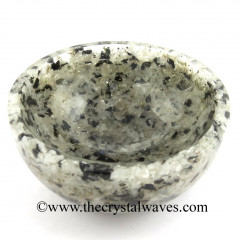 Rainbow Moonstone Chips Orgone 3 Inch Bowl