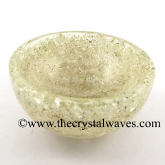 Crystal Quartz Chips Orgone 4 Inch Bowl