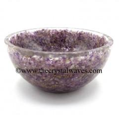 Amethyst Chips Orgone 4 Inch Bowl