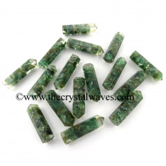 Green Aventurine Chips 1.50 Inch Orgone Pencil