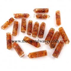 Carnelian Chips 1.50 Inch Orgone Pencil