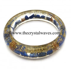 Lapis Lazuli Chips Orgone Bangles