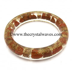 Red Jasper Chips Orgone Bangles
