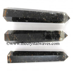 Shungite 2 to 3 inch Orgone Pencil Obelisk