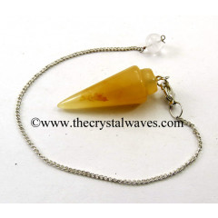Yellow Aventurine Smooth Pendulum