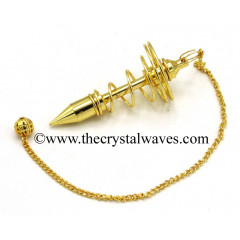 Metal Pendulum Style 9 Golden Finish
