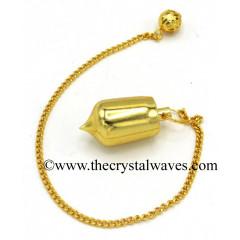 Metal Dowsing Pendulum Golden Style 16