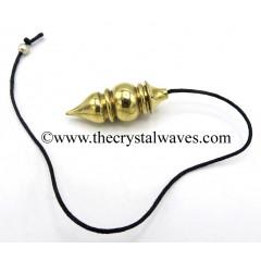 Metal Dowsing Pendulum Golden Style 23