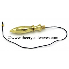 Metal Dowsing Pendulum Golden Style 24
