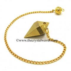 Metal Dowsing Pendulum Golden Style 34
