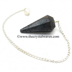 Hematite Faceted Pendulum