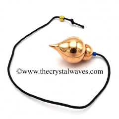 Metal Dowsing Pendulum Copper Style 38