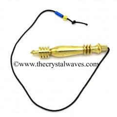 Metal Dowsing Karnak Pendulum Golden Style 39