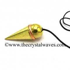 Metal Dowsing Pendulum With Copper Ring Style 43