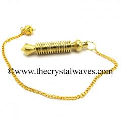 ISIS Metal Dowsing Pendulum Golden Style 48