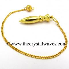 Egyptian Style Metal Dowsing Pendulum Golden Style 44