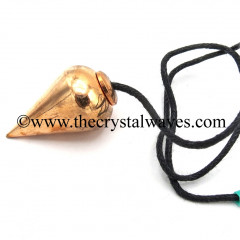 Metal Dowsing Pendulum Copper Style 45