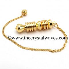 ISIS Metal Dowsing Pendulum Golden Style 46