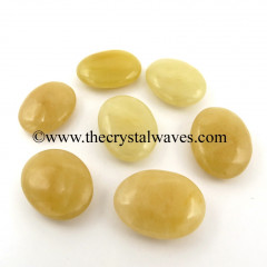 Yellow Aventurine Big Pillow/Palmstone Shapes