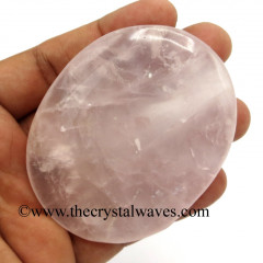 Rose Quartz Big Pillow/Palmstone Shapes