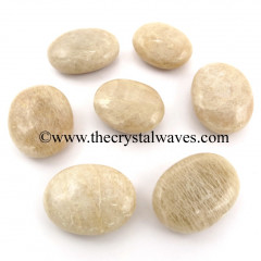 Cream Moonstone Pillow/Palmstone Shapes