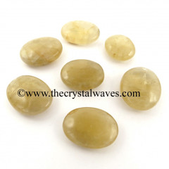 Citrine Quartz Pillow/Palmstone Shapes