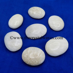 Scolecite Pillow/Palmstone Shapes