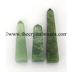 Green Aventurine (Light) 1-1.50 Inch Tower