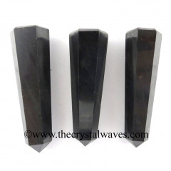 "Shungite 2"" to 3"" Pencil 6 to 8 Facets"