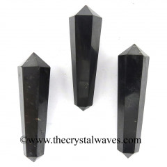 "Shungite 1.50 - 2"" Double Terminated Pencil"
