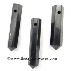 Shungite 1 - 1.50 Inch Pencil Pendant
