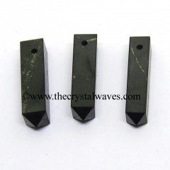 Shungite 4 Facet 1 - 1.50 Inch Pencil Pendant