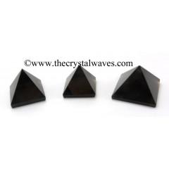 Smoky Obsidian 23 - 28 mm pyramid