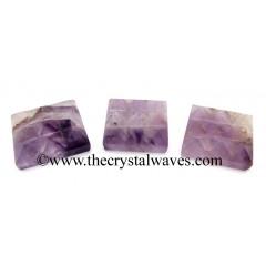 Amethyst 9 Pyramid Lemurian Power Plate