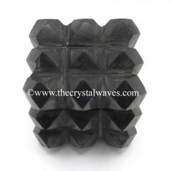 Shungite Lemurian 54 Pyramid Big Power Cube