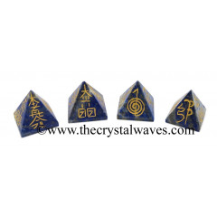 Lapis Lazuli Small Usui Reiki Pyramid