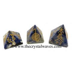 Sodalite Small Usui Reiki Pyramid