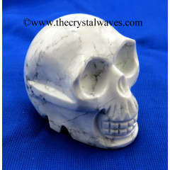 Howlite Big Skulls